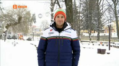 Радослав Янков преди Световното първенство по сноуборд