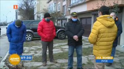 Заради некачествен ремонт на булевард, блок в Русе се наводнява при всеки дъжд