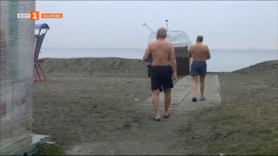 Бургаските моржове искат удобства на плажа