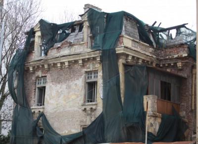 СО с план за укрепване на къщата на Гешов