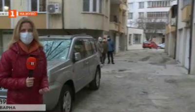 Хората от кв. Чайка във Варна се оплакват от разбитите улици