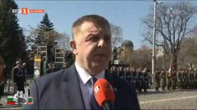 Министър Каракачанов: 3 март е идеал за обединението на българите в едно отечество, в една държава