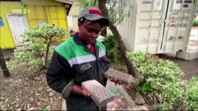 В Кения създадоха тухли от пластмаса