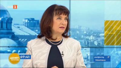 Ваня Кастрева: На този етап матури няма да отпадат, няма да се удължава и учебната година