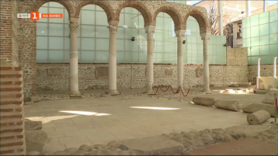 Епископската базилика в Сандански