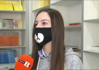 Ученичка в Русе спечели награда за дублаж на китайски език