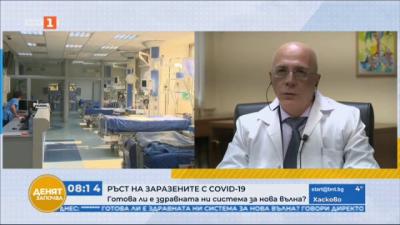 Д-р Близнаков: Ковид леглата са запълнени на 85% в УМБАЛ Св. Анна