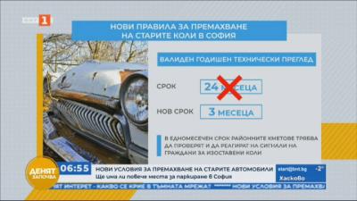 Нови условия за премахване на старите автомобили