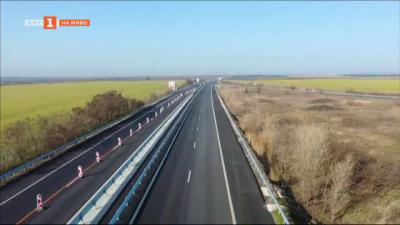 "Движението в ремонтирания 6-километров участък от автомагистрала ""Тракия е пуснато"