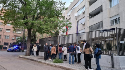 Как гласуват българите в Испания