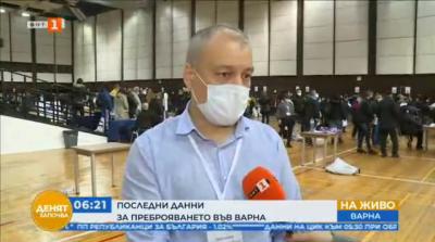 Велин Жеков, РИК-Варна: Много проблеми има с машинното гласуване