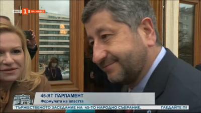 Христо Иванов: Ако ни бъде потърсена подкрепа от Има такъв народ, бихме водили разговори