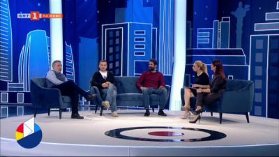 Пандемия, изкуство и избори - актьорите Роберт Янакиев, Александър Сано и Филип Аврамов