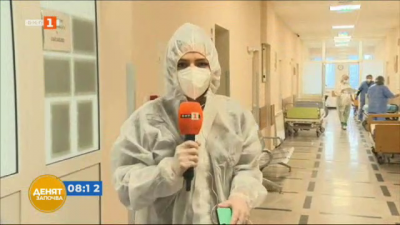 COVID пациентите в Пирогов вече гласуват