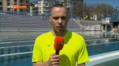 Антъни Иванов за амбициите българското плуване отново да вземе място на олимпийската сцена