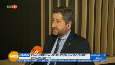 Христо Иванов: Виждаме една нова България, в която Борисов да не може да вземе властта