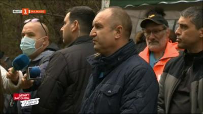Президентът Румен Радев даде начало на инициативата Да засадим дърво, да възродим българската гора