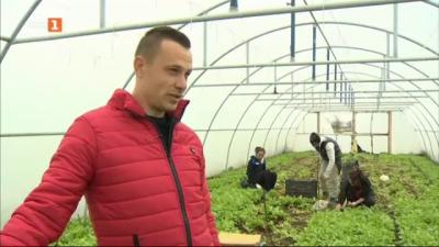 Фермерът Даниел Генов за работата в чужбина, която го провокира да се занимава със земеделие