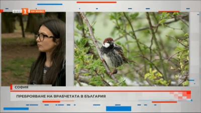 Преброяване на врабчетата в България