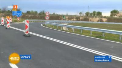 """Пускат движението в ремонтирания 10 км участък от магистрала Тракия"""""""