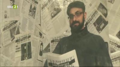 Под открито небе: изложба Лицата на Литературен вестник
