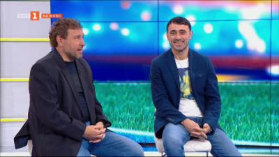 Велислав Вуцов и Тодор Янчев за предстоящия двубой между Левски и ЦСКА