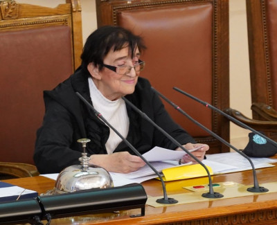 Мика Зайкова в тържествената си реч: Народът ни изпрати в тази зала с една поръка - промяна!