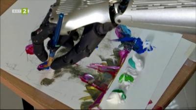 Хуманоиден робот продаде своя арт твобра за близо 700 000 щ. д.