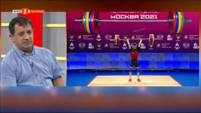 Треньорът на националния отбор по вдигане на тежести Иван Иванов - за големия триумф на европейското първенство
