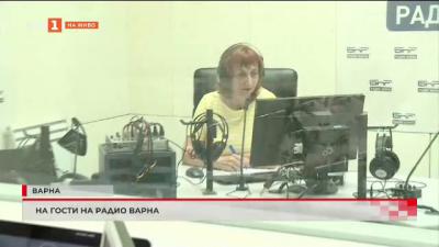 На гости на Радио Варна