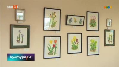 """Изложбата """"Пролетни цветя"""""""