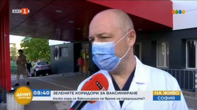 Пет пункта за ваксинация работят и днес в Пирогов