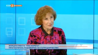 Инициативата Три морета, разговор с Елена Поптодорова