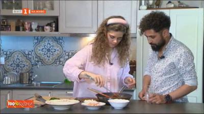 Бързи рецепти за небързащи хора - саганаки със скариди и сирене