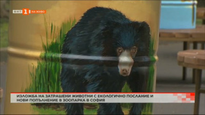 Изложба на застрашени животни с екологично послание и ново попълнение в софийския зоопарк