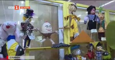 Музей на кукли на литературни герои, изработени от деца