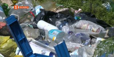 Нерегламентирано сметище във вилна зона в Русе