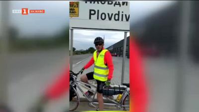76-годишен италиенаец ще кара колело от Пловдив до Италия