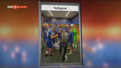 Спортните теми в социалните мрежи