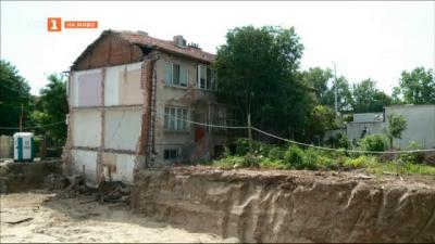 Опасна къща застрашава живота и здравето на жители на Пловдив