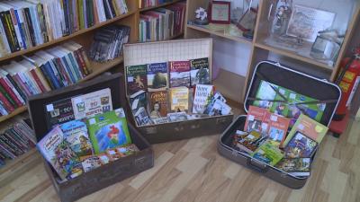 Библиотека в куфар - лятна инициатива на читалището във Ветово