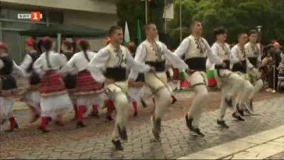 Национален фолклорен фестивал Златни нишки в с. Трудовец