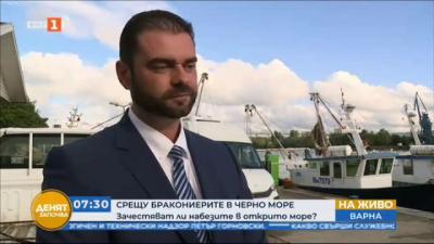 Близо 3 км бракониерски мрежи за улов на калкан са извадени от морето край Варна за месец