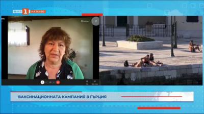 Ваксинационната кампания в Гърция