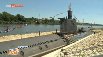 Реставрираната подводница Слава