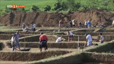Спасителна акция на археологически ценности по трасето на бъдеща автомагистрала