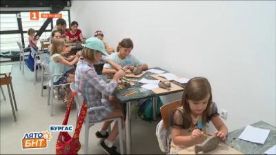 Лятна академия по изкуствата във филиала на НХА в Бургас
