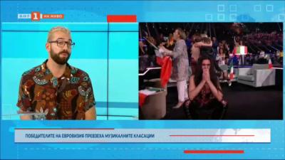Победителите на Евровизия превзеха музикалните класации