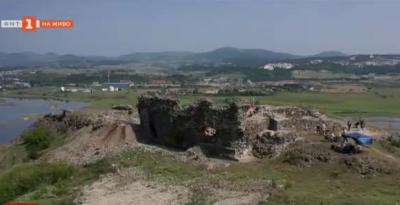 На крепостта Вишеград - археология и находки