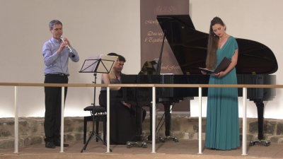 Давид Валтер - обой, Елен Валтер - сопрано, Марина Саики - пиано